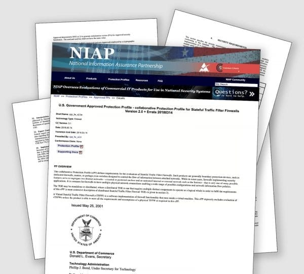 NIAP Certification: What Does It Mean to Have a NIAP Approved Product?